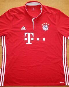 2016/17 Bayern Munich #17 Jerome Boateng Adidas Size 2XL Football Shirt Jersey