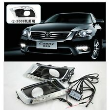 White LED DRL Daytime Running Lights DRL Replacemnt For Toyota Camry 2009-2011