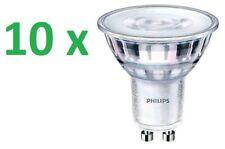 10 x Philips Faretto Led GU10 4,6W = 50W CALDO LAMPADINA LAMPADA 36D