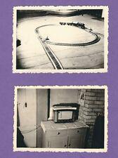 16/99 FOTO 2 x  ALTES RADIO - ELEKTRISCHE EISENBAHN 1963