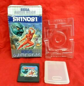 SHINOBI - USED BOXED NO MANUAL - SEGA GAME GEAR - PAL
