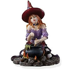 Lenox Witch's Brew Figurine Halloween Cauldron Red Head Bewitching Beauties New