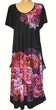 TS dress TAKING SHAPE plus sz XS / 14 'Garden Party' stretch light NWT rrp$140!