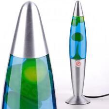 Mia a22891n Lava ↥ 355mm / Retro/ Azul/Verde/Iluminación Lámpara de magmal