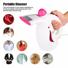WHITE 800W PORTABLE HANDHELD GARMENT CLOTHES FABRIC STEAMER STEAM For Home