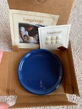 New Longaberger CornflowePottery Coaster or 1 Pint Crock Lid or Candle Base New