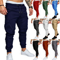 Outdoor Mens Military Urban Tactical Combat Trousers Casual Hiking Cargo Pants
