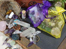 FIVE OZ Crystal Grab-bag (pagan, crystal, healing, spells, craft, beads)