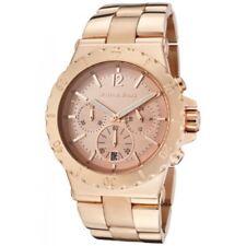 MK5314 NEW Genuine Michael Kors Dylan Rose Gold Steel Watch RRP £259