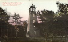 Stamford NY Observation Tower on Mt. Utsayantha c1910 Postcard