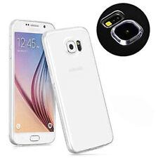 COVER Custodia Morbida TRASPARENTE GEL Silicone +PELLICOLA per Samsung Galaxy S6