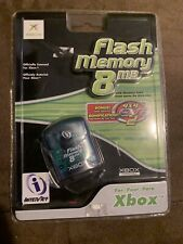 FLASH MEMORY 8MB CARD XBOX. BRAND NEW SEALED.