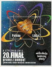 Poland block MNH block WOSP 2012
