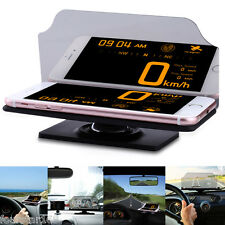 Heads Up Display Car GPS Navigation Reflector Image Holder Stand for Cell Phone