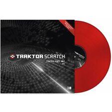 Traktor Scratch Control Vinyl mk2 Red Vinyl timecode DJ NEW