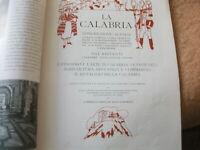"""""""LA CALABRIA"""", testo,dipinti e disegni di Ettore Cosomati. Natale 1928"""