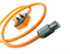 Ecosse power cable Big Orange ULTRA 3 Powerchord 1mt Hi-Fi Choice Recommended