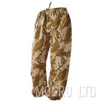Genuine British Army MVP Waterproof Goretex Rain Trousers Pants  Desert DPM Camo