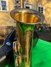 Tenor Saxophon Champion Made in GDR kaum gespielt Weltklang B&S Saxophone