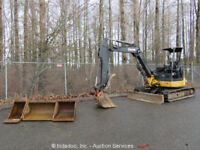 2006 John Deere 50D Hydraulic Mini Excavator Hyd Thumb Blade Manual Q/C Xtra Bkt
