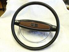 1968 SHELBY LEATHER WRAPPED STEERING WHEEL 1968 GT-500KR & 68 BULLITT MUSTANG