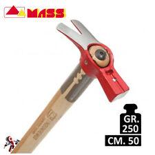 Martello l'Ingegnere Mass 250 gr. con manico legno 50 cm.