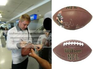 Brandon Weeden Cleveland Browns Signed Photo NFL Football Proof OSU Autograph