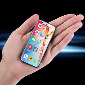 4G LTE Smartphone Kleinste Fingerabdruck-ID 8GB / 32GB Android 8.1 Mini-Handy