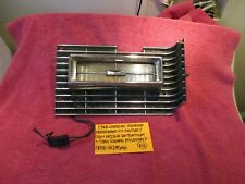 1968 CADILLAC DEVILLE FLEETWOOD GM FACTORY GRILLE EXTENSION TURN SIGNAL ASSEMBLY