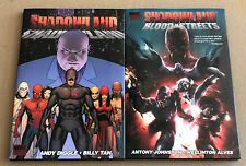 🔥Shadowland + Blood On The Streets Brand New Daredevil Event Hardcover HC Lot🔥