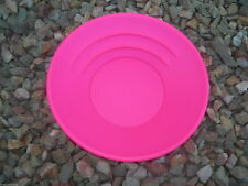 "HOT PINK Gold Pan Panning 10""  Prospecting Mining Sluice MADE IN THE USA!"