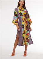 🍁🍁🍁 [New]  Gorman x Rebekah Callaghan BROAD LEAF Relaxed Fit Dress  14/16