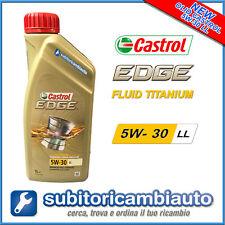 NUOVO OLIO MOTORE CASTROL 5W30 LL EDGE TITANIUM FST 1L - NOVITA