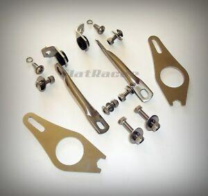 BMW R90S, R100S, R100CS, Cafe Racer S fairing stainless steel upper fitting kit