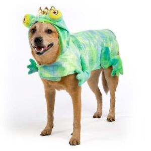 Frog Prince Halloween Dog Pet Costume X-Small (New with Tags)