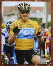Lance Armstrong SIGNED 16x20 Photo Tour de France Champ PSA/DNA AUTOGRAPHED RARE