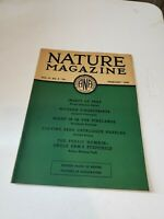 Vintage Nature Magazine February 1936 VG No Label Complete EUC