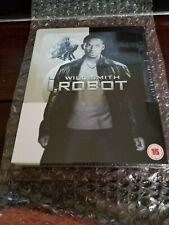 I, ROBOT STEELBOOK [RARE/OOP/NEW/Blu-ray] Zavvi UK Original 2013 Release