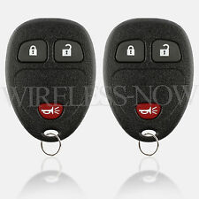 2 Car Key Fob Remote 2Btn For 2009 2010 2011 2012 2013 2014 2015 Chevy Traverse