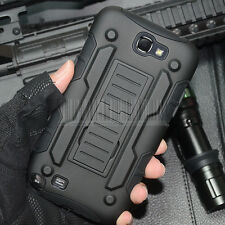 Armor Impact Rugged Kickstand Hard Case Cover For Samsung Galaxy Note II/2 N7100