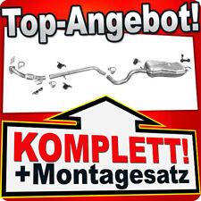 Auspuff VW GOLF 4 IV & NEW BEETLE 1.9 TDi +Rohr Auspuffanlage B98C