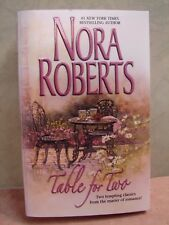 Table for Two by Nora Roberts (2002, Paperback)=B0071=