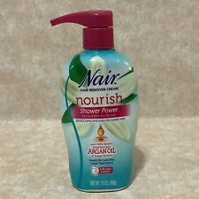 Nair Hair Remover Cream Nourish Shower Power With Moroccan Argan Oil 13oz - New
