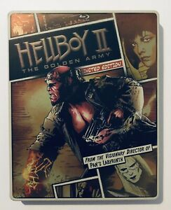 Hellboy II: The Golden Army (Blu-Ray + DVD 2-Disc Set) Steelbook Limited Edition