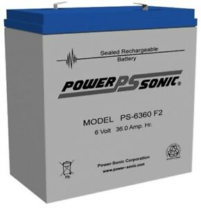 Mule 6GC100Q Battery Replacement -12V 36AH SLA AGM