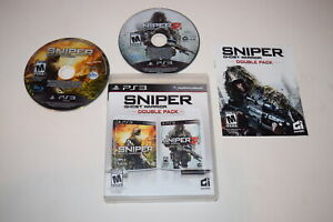 Sniper Ghost Warrior Double Pack Playstation 3 PS3 Video Game Complete