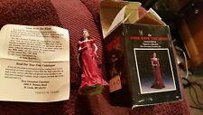 Gone With The Wind Limited Edition Ornament Dave Grossman Scarlett In Ruby Dress