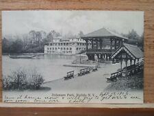 Buffalo NY New York, Delaware Park ,early postcard