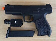 Airsoft Gun Ukarms P299AF Black Spring Power Pistol Laser Flashlight 6mm BB BBs