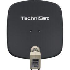 Technisat DigiDish 45 + Twin LNB Grau Sat/Installation, SAT-Schüssel, Spiegel